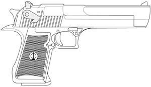 Desert Eagle, .41 Magnum, Factory Mag: Image