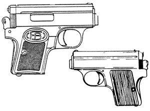 Frommer Baby Stop, .32ACP, 6 RD Magazine Or Grips Image