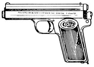 Frommer Stop (1912) Model, .32ACP, 7 RD Magazine Or Grips Image